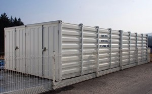 Gebrauchte Materialcontainer