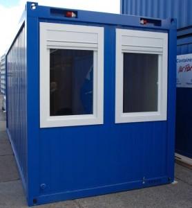 Baustellencontainer gebraucht