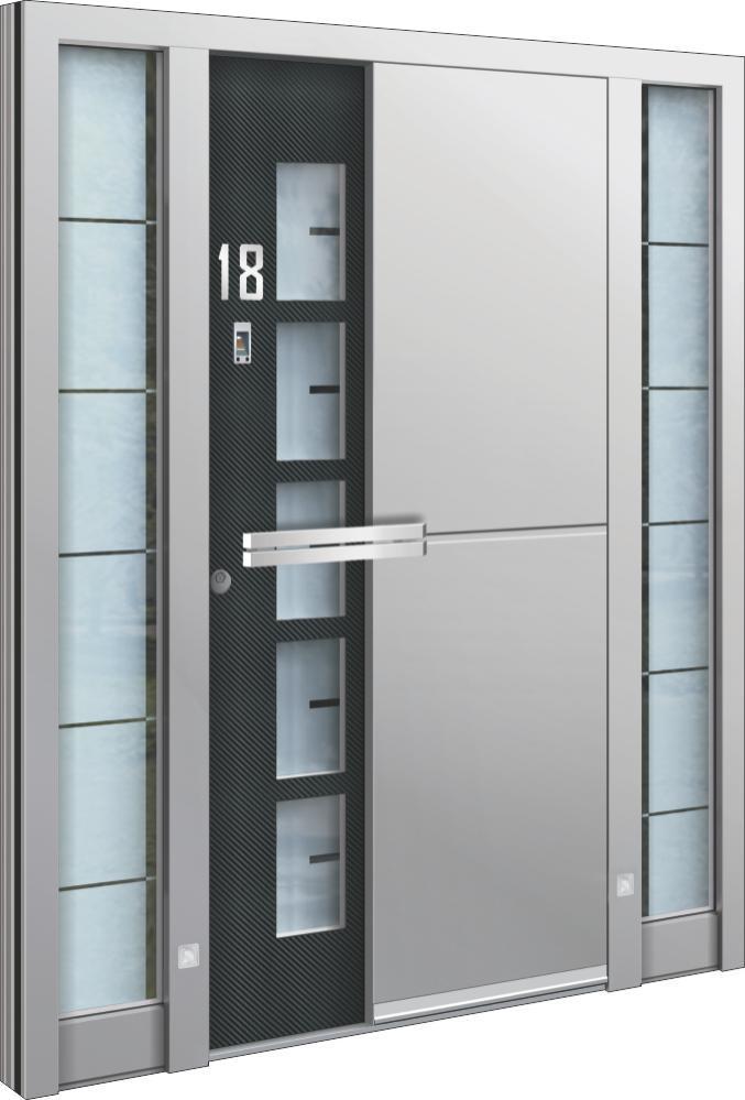 Eingangstüren mit seitenteil  Hausnebeneingangstür – Eingangstüren mit Seitenteil zu fairem ...