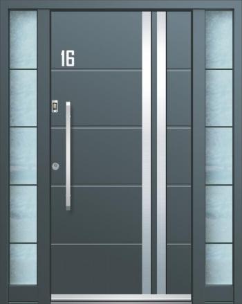 Moderne Eingangstüren Aluminium