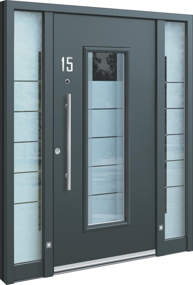 Aluminium Haustüren mit Seitenteil Preis