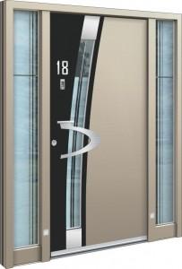 Aluminium Haustüren modern
