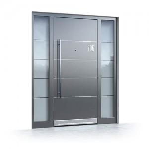 Alu Haustüren mit Glas