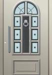 Weiße Haustüren