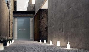 Aluminium Haustür mit Seitenteil Online