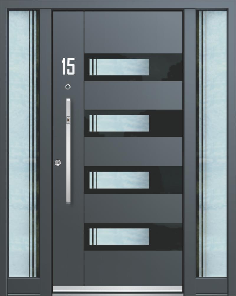 Haustüren aus Aluminium Inotherm