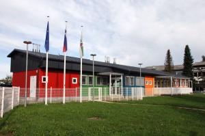 Modular Bauweise Kindergarten