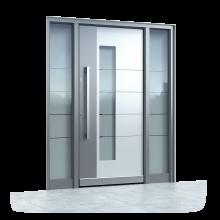 Haustüren Aluminium Glas Preis