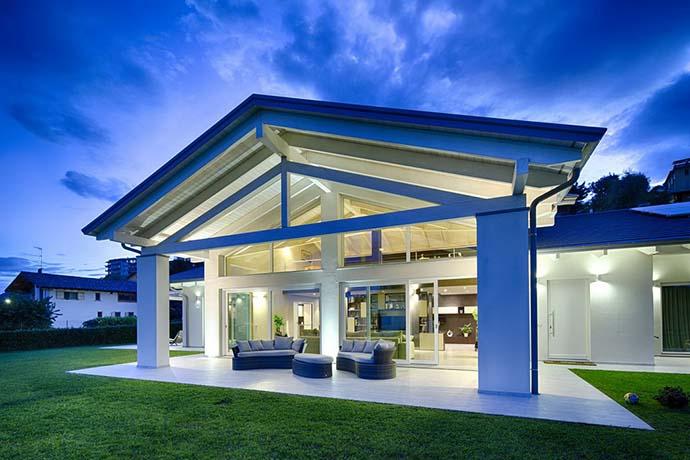 Moderne Fachwerkhäuser Glas