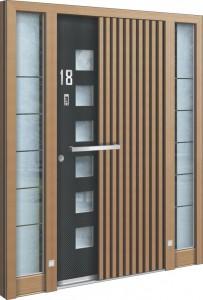 Holz Aluminium Haustüren