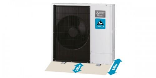 Luft Wasser Wärmepumpe Mitsubishi Zubadan Test