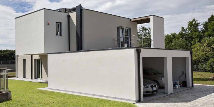 Modernes Haus Flachdach Alle Zusammen