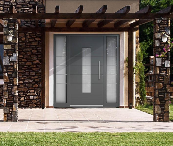 Haustür Aluminium