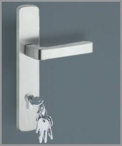 Hauseingangstür Aluminium