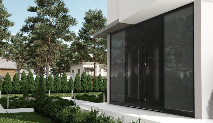 Schüco Aluminium Haustüren