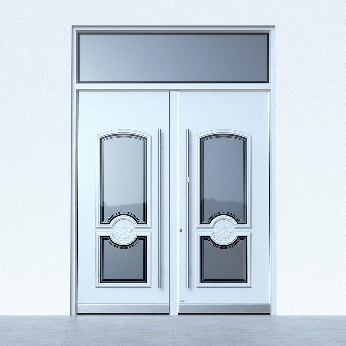 Haustüren Weiß