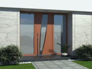 moderne Haustüren Holz