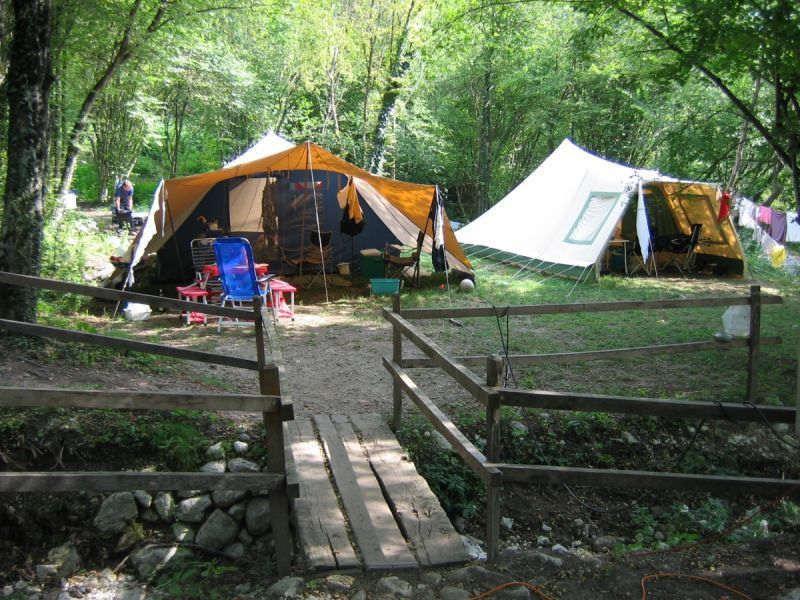 Camping in Slowenien