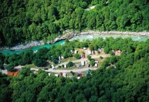 Camping Soca Slowenien