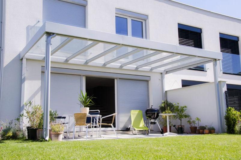 Überdachung Terrasse Glas