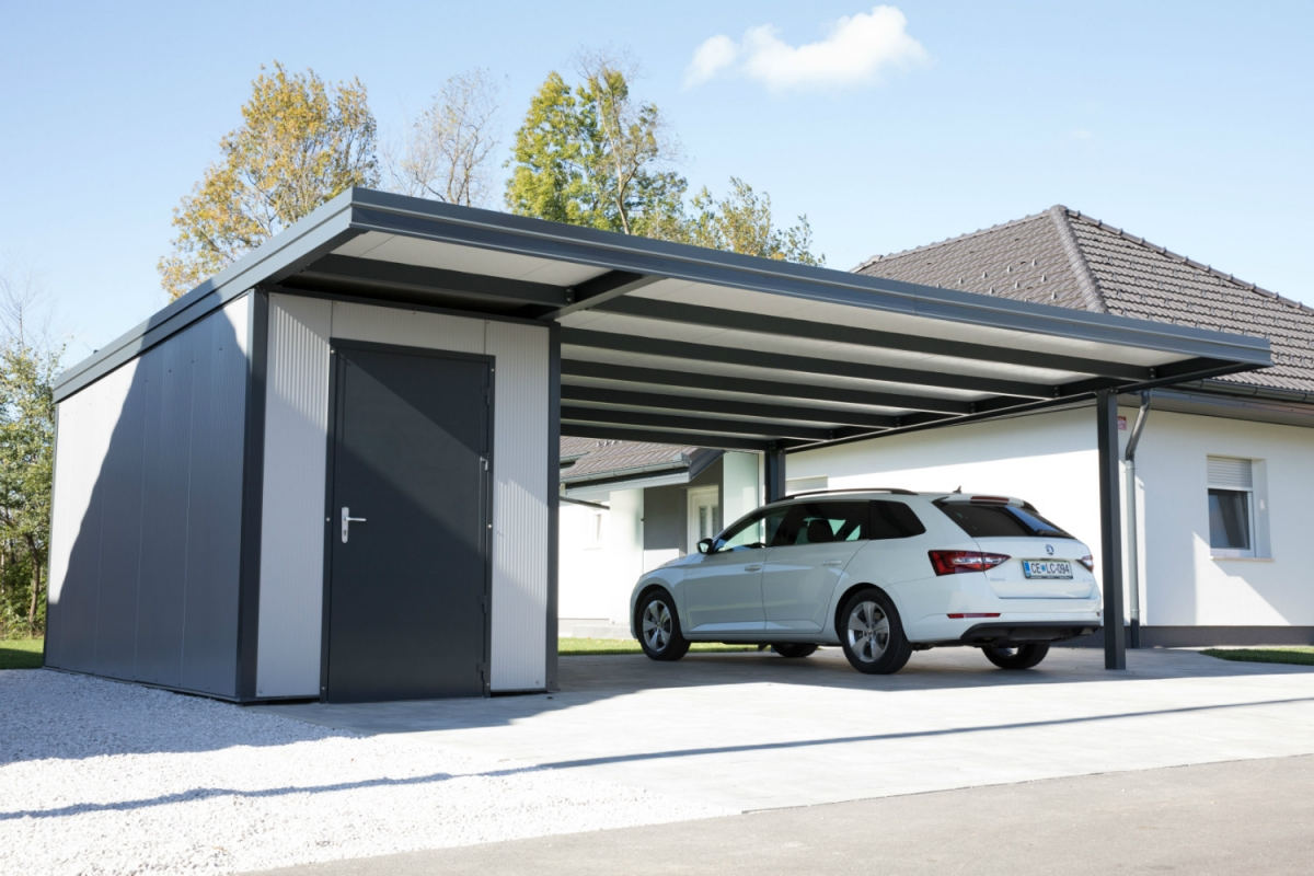 Carport Metall